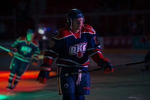 Texas Stars vs. OKC Barons, Cox Convention Center, Oklahoma City, OK. 12-20-13