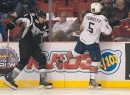 San Antonio Rampage vs. Oklahoma City Barons.   Cox Convention Center, Oklahoma City, OK. 10-19-12.