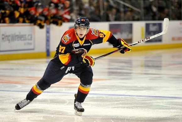 Connor McDavid of the Erie Otters. Photo by Aaron Bell/OHL Images