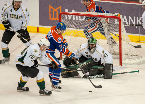 Stars vs. Oklahoma City Barons 12-31-12