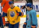 Edmonton Oilers Team Practice 9/26/2013
